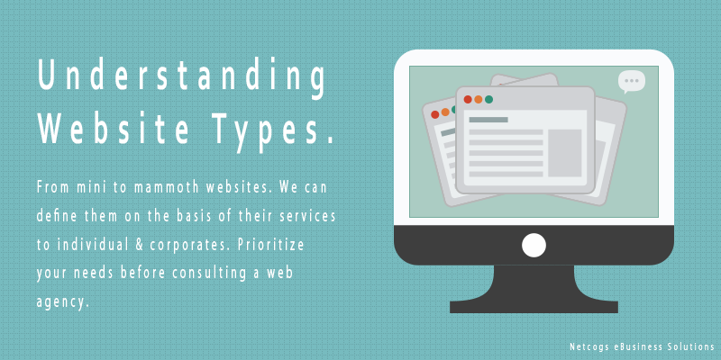 Plan a Website That Suits Your Needs Best – Understanding Website Types